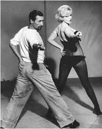 Jack Cole with Marilyn Monroe