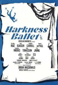 1967. Harkness Poster.