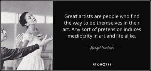 Margo Fonteyn Quote